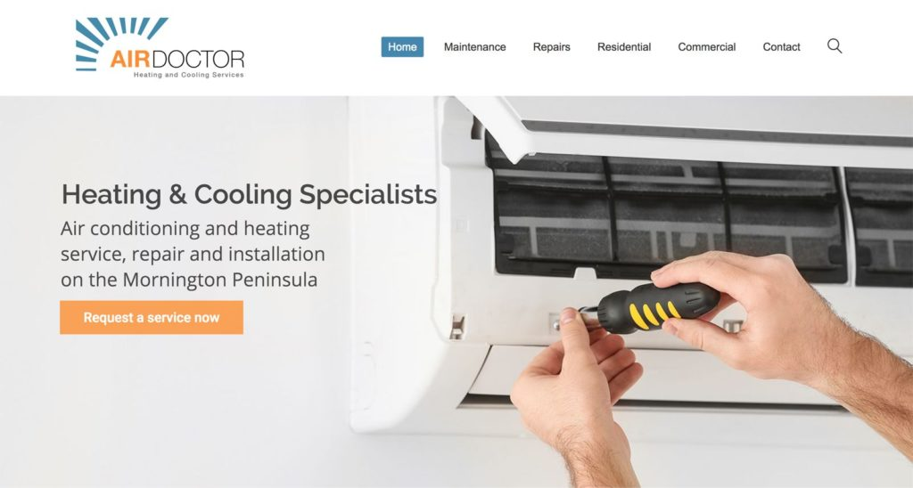 airdoctor heating and cooling services