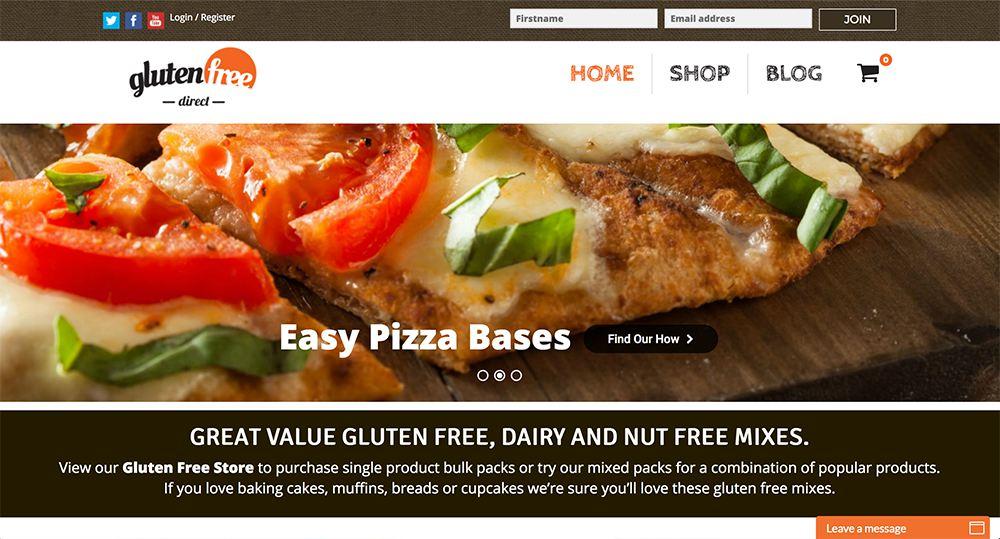 Buy gluten free direct