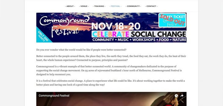 Commonground Festival